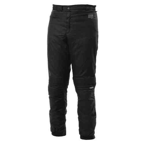 IXS Checker Evo Hyvät tekstiili housut Musta