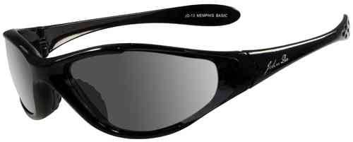 John Doe Memphis Basic Aurinkolasit Musta