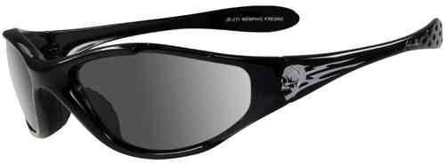 John Doe Memphis Skull Aurinkolasit Musta