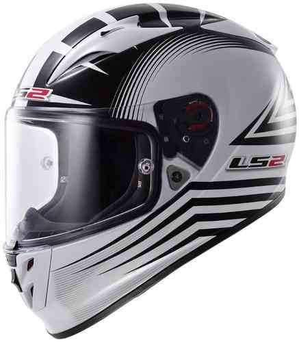 LS2 FF323 Arrow R Trax Kypärä Valkoinen/musta