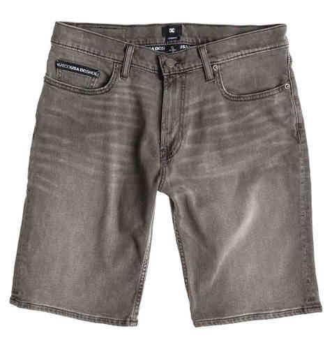 DC Worker Straight Denim Shorts Kivenharmaa