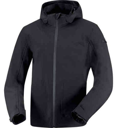 IXS Dublin Tekstiili takki Musta