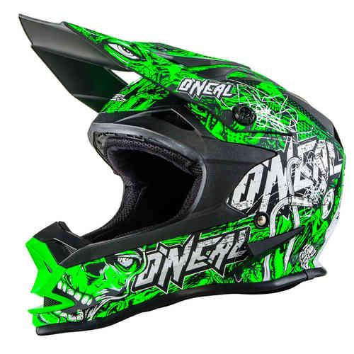Oneal O´Neal 7Series Menace Evo MX Motocross kypärä Kirkkaanvihreä