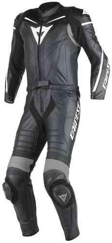 Dainese Laguna Seca D1 Kaksiosainen puku Musta/antrasiitti