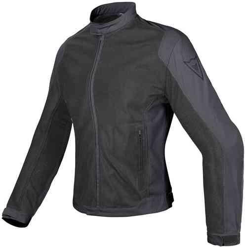 Dainese Air Flux D1 Tex Tekstiili takit Musta