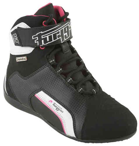 Furygan Jet D3O Sympatex Hyvät moottoripyörä kengät Musta/purppura