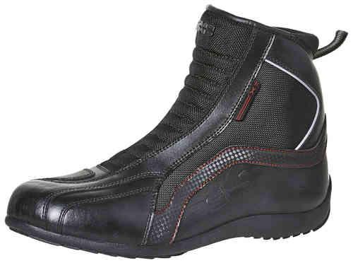 IXS Sirius Moottoripyörä kengät Musta