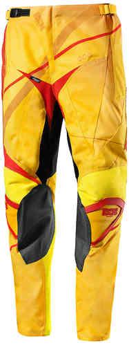 IXS Hurricane Motocross housut Keltainen/oranssi/punainen