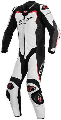 Alpinestars GP Pro Tech Air Yksiosainen puku Valkoinen/musta/punainen