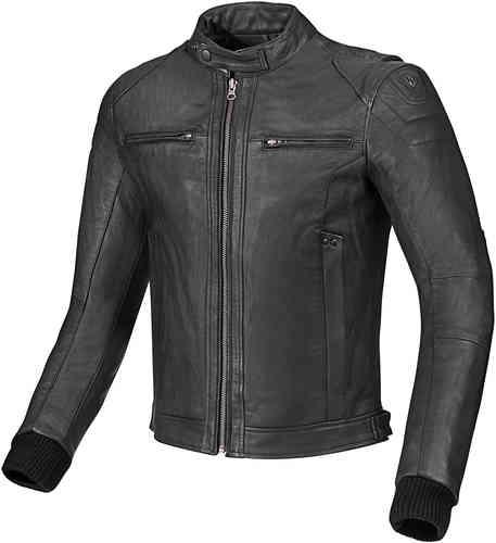 Arlen Ness Classic Moottoripyörä nahkatakki Musta