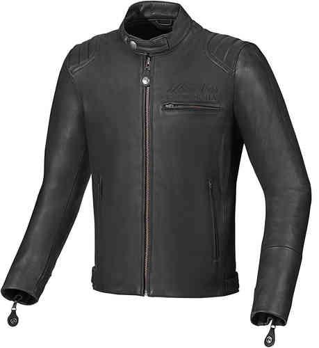 Arlen Ness Milano Moottoripyörä nahkatakki Musta