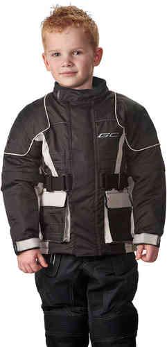 Canyon Grand Canyon Kids tekstiili Jacket Musta/hopea