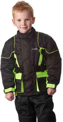 Canyon Grand Canyon Kids tekstiili Jacket Musta/keltainen