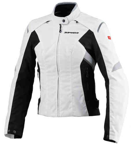 Spidi Flash Tex Tekstiili takit Valkoinen