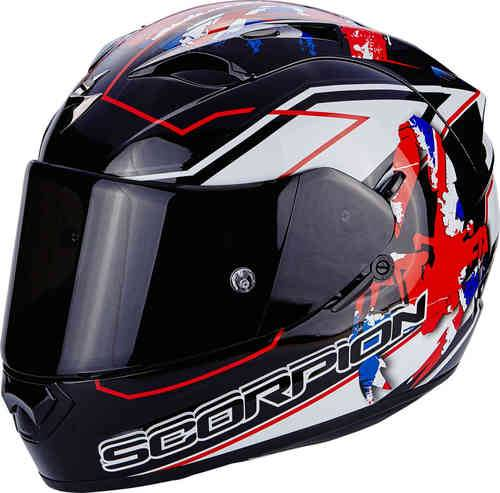 Scorpion Exo 1200 Air Alto Kypärä Musta/valkoinen/punainen
