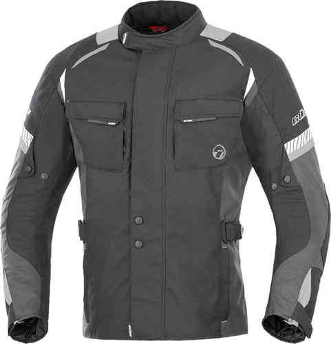 Büse Breno Tekstiili takki Musta/antrasiitti