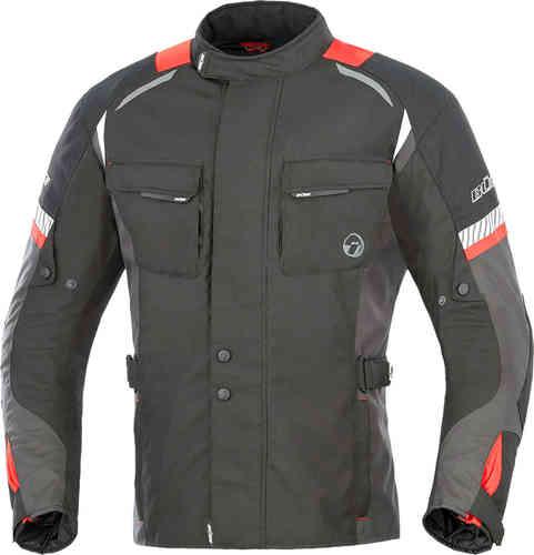 Büse Breno Tekstiili takki Musta/punainen