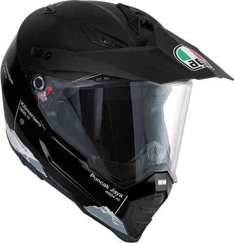 AGV AX-8 Dual Evo Wild Frontier Motocross kypärä Musta