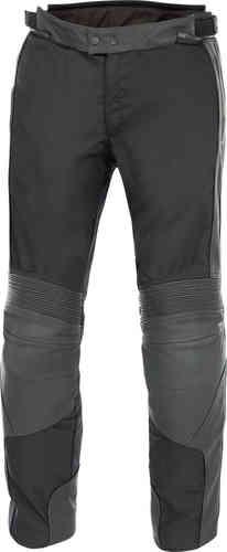 Büse Grenada Nahka/tekstiili housut Musta