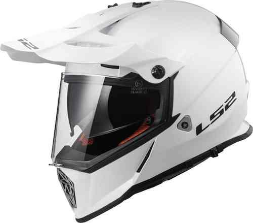 LS2 Pioneer MX436 Kypärä Valkoinen