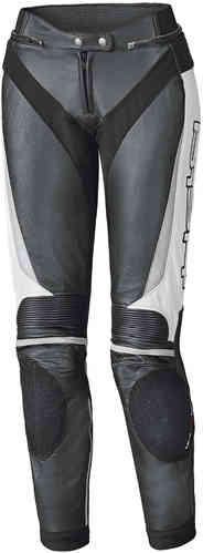 Held Lane II Naiset nahka housut Musta/valkoinen