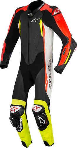 Alpinestars GP Tech Air Yksiosainen puku Musta/valkoinen/punainen/keltainen