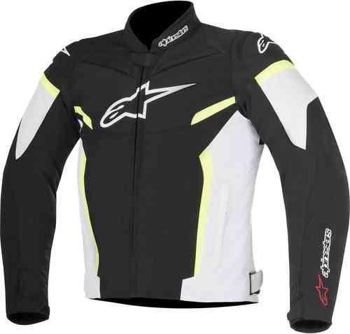 Alpinestars T-GP Plus R V2 Tekstiili takki Musta/valkoinen/keltainen