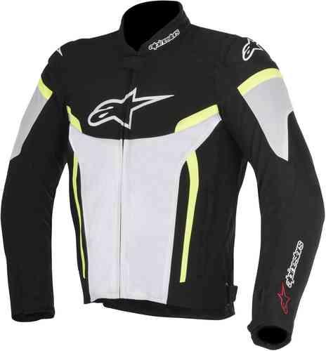 Alpinestars T-GP Plus R V2 Air Tekstiili takki Musta/valkoinen/keltainen