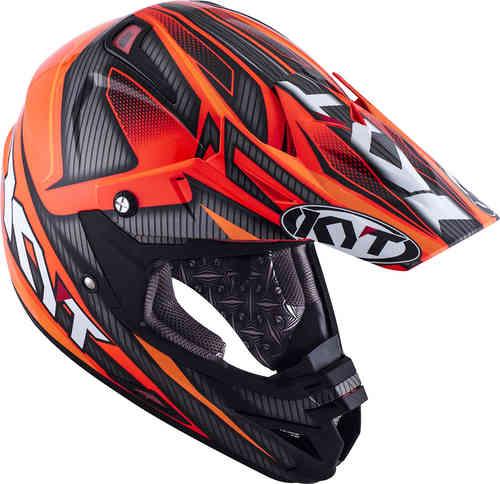 KYT Cross Over Power Motocross kypärä Musta/punainen