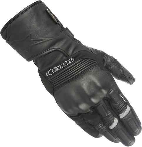 Alpinestars Patron Gore-Tex Moottoripyörän käsineet Musta