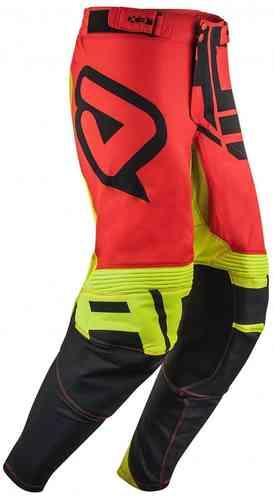 Acerbis X-Flex Alfa Motocross housut Punainen/keltainen