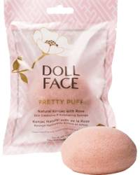 Doll Face Pretty Puff - Rose Konjac Cleansing Sponge