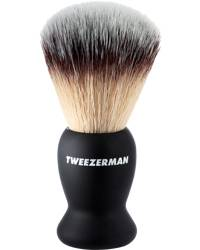 Tweezerman Gear Deluxe Shaving Brush Black