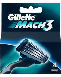 Gillette Mach3 4-Pack