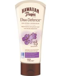 Hawaiian Tropic DuoDefence Sun Lotion SPF15, 180ml