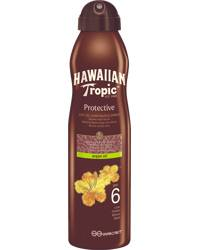 Hawaiian Tropic Dry Oil Argan Contionuous Spray SPF6, 177ml