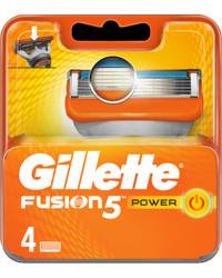 Gillette Fusion5 Power 4-pack