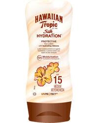 Hawaiian Tropic Silk Hydration Protective Sun Lotion SPF15, 180ml