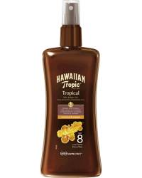 Hawaiian Tropic Protective Dry Spray Oil SPF8, 200ml
