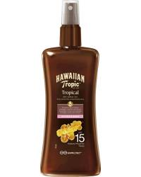Hawaiian Tropic Protective Dry Spray Oil SPF15, 200ml