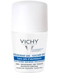 Vichy Deo 24hr Dry Touch Aluminium-Free Roll-On 50ml