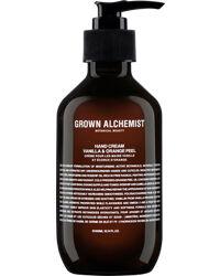 Grown Alchemist Hand Cream Vanilla & Orange Peel, 300ml