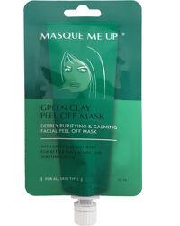 Miqura Green Clay Peel Off Mask, 20ml
