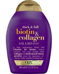 OGX Biotin & Collagen Shampoo, 385ml