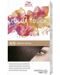 Wella Professionals Color Touch, 4/0 Medium Brown