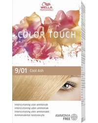Wella Professionals Color Touch, 9/01 Very Light Blonde Natural Ash