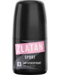 Zlatan Ibrahimovic Zlatan Sport Pour Femme, Deo Roll-on 50ml