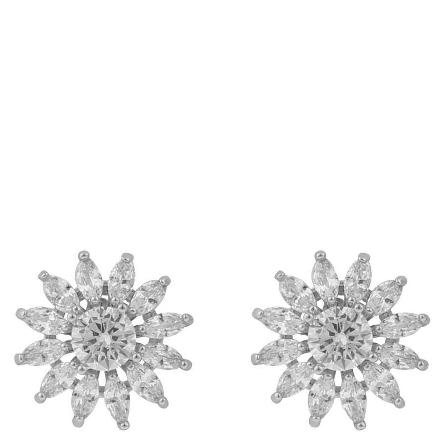 Snö Of Sweden Kathy Small Earring ? Silver/Clear