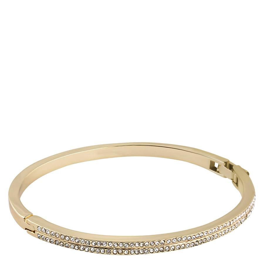 Snö of Sweden Carrie Oval Bracelet – Gold/Clear