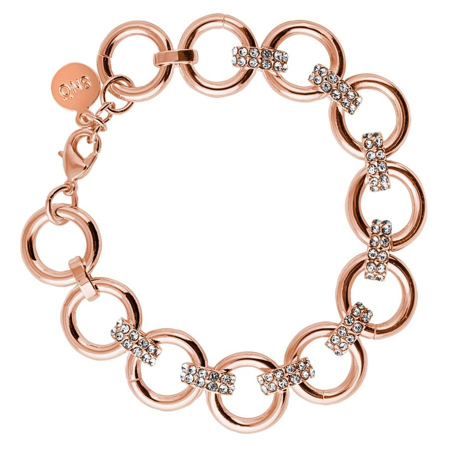Snö of Sweden Adara Bracelet – Rosé/Clear